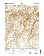 Moonshine Wash Utah Current topographic map, 1:24000 scale, 7.5 X 7.5 Minute, Year 2014 from Utah Map Store