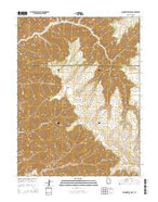 Moonwater Point Utah Current topographic map, 1:24000 scale, 7.5 X 7.5 Minute, Year 2014 from Utah Map Store