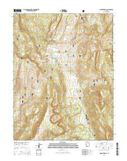 Mount Terrill Utah Current topographic map, 1:24000 scale, 7.5 X 7.5 Minute, Year 2014 from Utah Maps Store