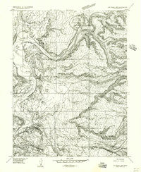 Mt. Waas 1 NW Utah Historical topographic map, 1:24000 scale, 7.5 X 7.5 Minute, Year 1954
