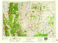 Ogden Utah Historical topographic map, 1:250000 scale, 1 X 2 Degree, Year 1958