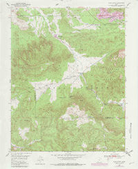 Page Ranch Utah Historical topographic map, 1:24000 scale, 7.5 X 7.5 Minute, Year 1950