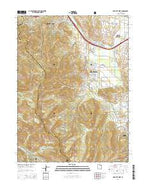 Park City West Utah Current topographic map, 1:24000 scale, 7.5 X 7.5 Minute, Year 2014 from Utah Map Store