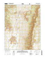 Parker Knoll Utah Current topographic map, 1:24000 scale, 7.5 X 7.5 Minute, Year 2014 from Utah Map Store