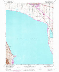 Pelican Point Utah Historical topographic map, 1:24000 scale, 7.5 X 7.5 Minute, Year 1950