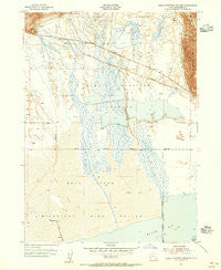 Public Shooting Grounds Utah Historical topographic map, 1:24000 scale, 7.5 X 7.5 Minute, Year 1954