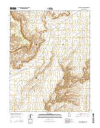 Red House Spring Utah Current topographic map, 1:24000 scale, 7.5 X 7.5 Minute, Year 2014 from Utah Map Store