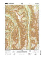 Red Knob Utah Current topographic map, 1:24000 scale, 7.5 X 7.5 Minute, Year 2014 from Utah Map Store