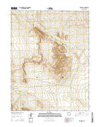 Red Knolls Utah Current topographic map, 1:24000 scale, 7.5 X 7.5 Minute, Year 2014 from Utah Map Store
