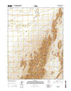 Red Pass Utah Current topographic map, 1:24000 scale, 7.5 X 7.5 Minute, Year 2014 from Utah Map Store