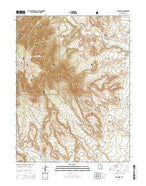 Red Point Utah Current topographic map, 1:24000 scale, 7.5 X 7.5 Minute, Year 2014 from Utah Map Store
