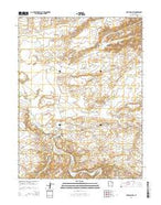 Red Wash SW Utah Current topographic map, 1:24000 scale, 7.5 X 7.5 Minute, Year 2014 from Utah Map Store