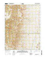 Redmond Canyon Utah Current topographic map, 1:24000 scale, 7.5 X 7.5 Minute, Year 2014 from Utah Map Store