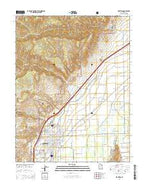 Richfield Utah Current topographic map, 1:24000 scale, 7.5 X 7.5 Minute, Year 2014 from Utah Map Store