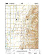 Richmond Utah Current topographic map, 1:24000 scale, 7.5 X 7.5 Minute, Year 2014 from Utah Map Store