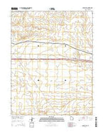 Sagers Flat Utah Current topographic map, 1:24000 scale, 7.5 X 7.5 Minute, Year 2014 from Utah Map Store