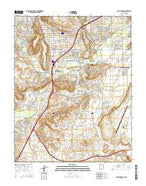 Saint George Utah Current topographic map, 1:24000 scale, 7.5 X 7.5 Minute, Year 2014 from Utah Map Store