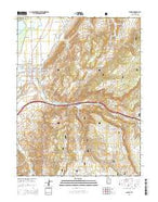 Salina Utah Current topographic map, 1:24000 scale, 7.5 X 7.5 Minute, Year 2014 from Utah Map Store