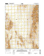 Sally Mountain Utah Current topographic map, 1:24000 scale, 7.5 X 7.5 Minute, Year 2014 from Utah Map Store