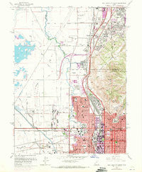 Salt Lake City North Utah Historical topographic map, 1:24000 scale, 7.5 X 7.5 Minute, Year 1963