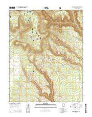 South Long Point Utah Current topographic map, 1:24000 scale, 7.5 X 7.5 Minute, Year 2014 from Utah Maps Store