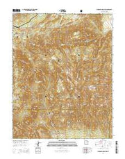Stoddard Mountain Utah Current topographic map, 1:24000 scale, 7.5 X 7.5 Minute, Year 2014 from Utah Maps Store