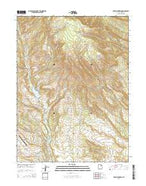Tabby Mountain Utah Current topographic map, 1:24000 scale, 7.5 X 7.5 Minute, Year 2014 from Utah Map Store
