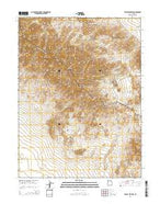 Tabbys Peak SW Utah Current topographic map, 1:24000 scale, 7.5 X 7.5 Minute, Year 2014 from Utah Map Store