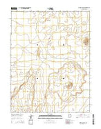 Tabernacle Hill Utah Current topographic map, 1:24000 scale, 7.5 X 7.5 Minute, Year 2014 from Utah Map Store