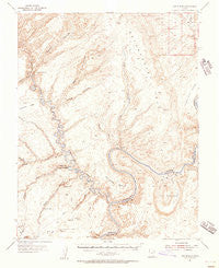 The Rincon Utah Historical topographic map, 1:62500 scale, 15 X 15 Minute, Year 1953