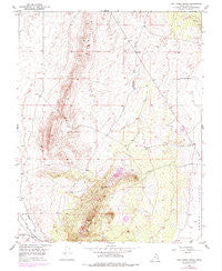 The Three Peaks Utah Historical topographic map, 1:24000 scale, 7.5 X 7.5 Minute, Year 1950