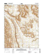 The Post Utah Current topographic map, 1:24000 scale, 7.5 X 7.5 Minute, Year 2014 from Utah Map Store