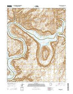The Rincon Utah Current topographic map, 1:24000 scale, 7.5 X 7.5 Minute, Year 2014 from Utah Map Store