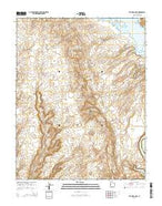 The Rincon NE Utah Current topographic map, 1:24000 scale, 7.5 X 7.5 Minute, Year 2014 from Utah Map Store