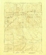 Uinta Utah Historical topographic map, 1:250000 scale, 1 X 1 Degree, Year 1885