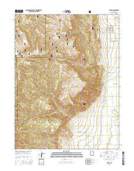 Wales Utah Current topographic map, 1:24000 scale, 7.5 X 7.5 Minute, Year 2014