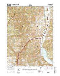 Wanship Utah Current topographic map, 1:24000 scale, 7.5 X 7.5 Minute, Year 2014
