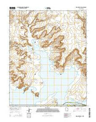 Warm Creek Bay Utah Current topographic map, 1:24000 scale, 7.5 X 7.5 Minute, Year 2014