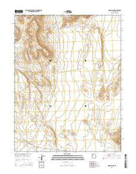 Warm Point Utah Current topographic map, 1:24000 scale, 7.5 X 7.5 Minute, Year 2014