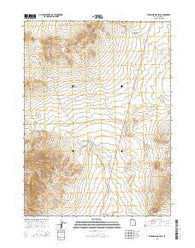 Warm Spring Hills Utah Current topographic map, 1:24000 scale, 7.5 X 7.5 Minute, Year 2014