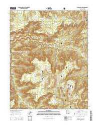 Warren Canyon Utah Current topographic map, 1:24000 scale, 7.5 X 7.5 Minute, Year 2014