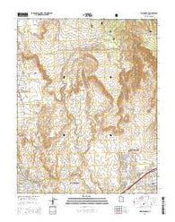 Washington Utah Current topographic map, 1:24000 scale, 7.5 X 7.5 Minute, Year 2014