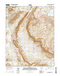 Washington Dome Utah Current topographic map, 1:24000 scale, 7.5 X 7.5 Minute, Year 2014
