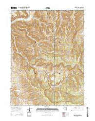 Weaver Ridge Utah Current topographic map, 1:24000 scale, 7.5 X 7.5 Minute, Year 2014