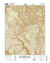 Webster Flat Utah Current topographic map, 1:24000 scale, 7.5 X 7.5 Minute, Year 2014