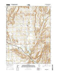 Wellington Utah Current topographic map, 1:24000 scale, 7.5 X 7.5 Minute, Year 2014