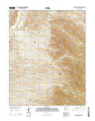 West Mountain Peak Utah Current topographic map, 1:24000 scale, 7.5 X 7.5 Minute, Year 2014