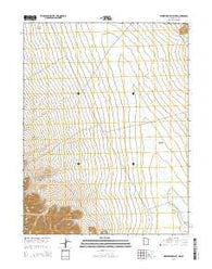 Whirlwind Valley NW Utah Current topographic map, 1:24000 scale, 7.5 X 7.5 Minute, Year 2014