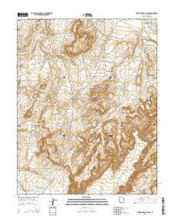 White Mesa Village Utah Current topographic map, 1:24000 scale, 7.5 X 7.5 Minute, Year 2014