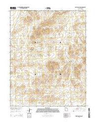 White Mountain Utah Current topographic map, 1:24000 scale, 7.5 X 7.5 Minute, Year 2014